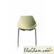 sedia ufficio di design h8004 fronte