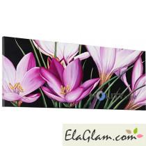 Pannello-quadro-a-fiori-decorato-a-rilievo-h11948