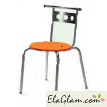 Sedia impilabile per esterno giardino e bar h15120