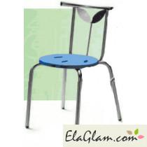 Sedia impilabile per esterno giardino e bar h15121