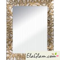 Specchio reversibile con cornice in legno h3909