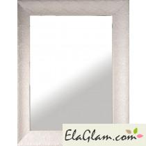 Specchio reversibile con cornice in legno laccata h3911