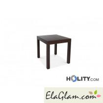 Tavolo rettangolare allungabile di testa in legno h13007