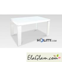 Tavolo rettangolare allungabile in legno h13001