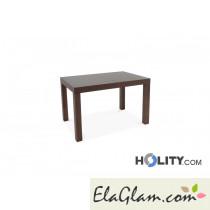 Tavolo rettangolare allungabile in legno h13010