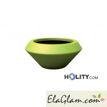 Vaso di design in polietilene liscio h12713