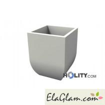 vaso-design-in-plastica-liscio-con-opzione-luce-h12715